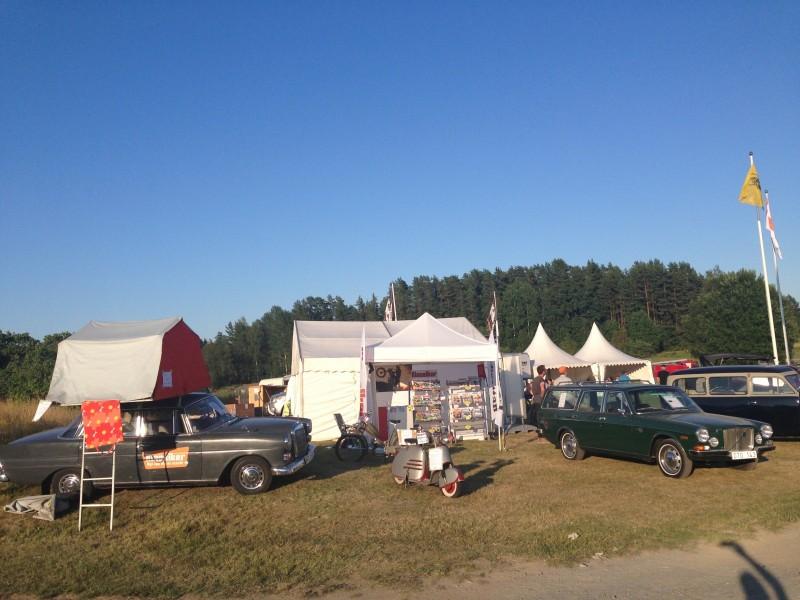 Klassiker är på plats med bland annat Stora Norrland (Mercedes 200, TP-Scootern och Volvo 165.