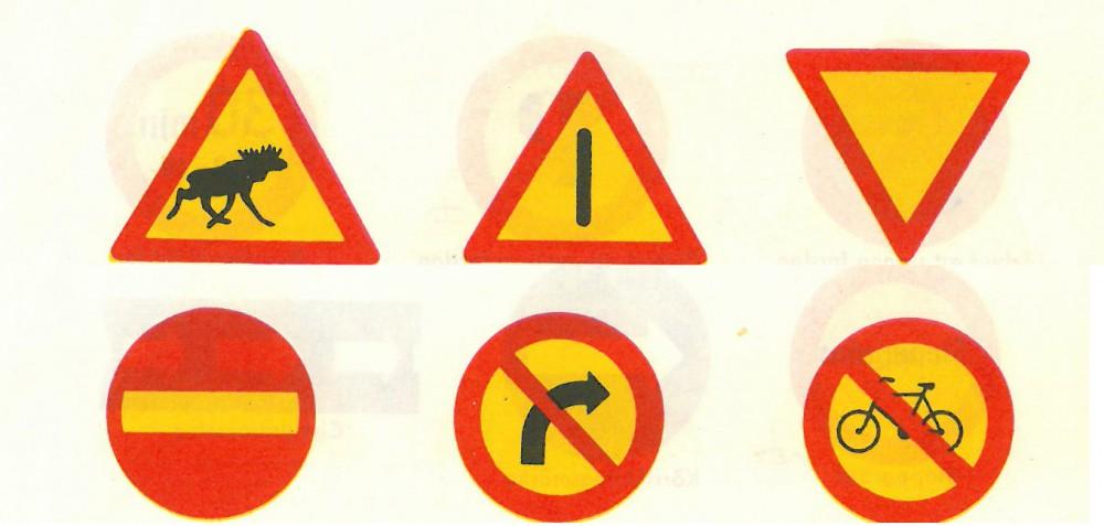 Quiz: Trafikmärken från förr!