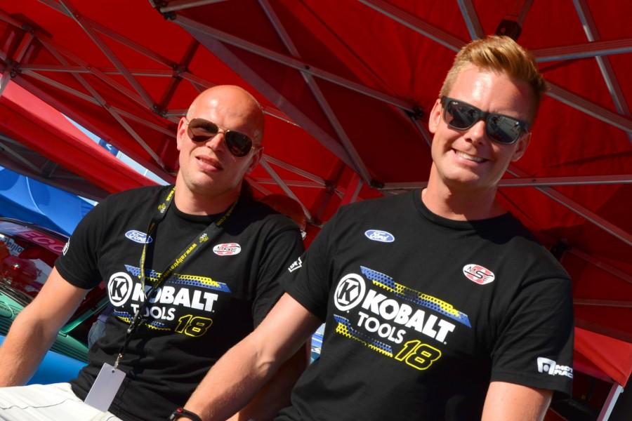 Patrik Sandell och Mattias Lönn, en vinnarkombination i årets  Midnattssolsrally.