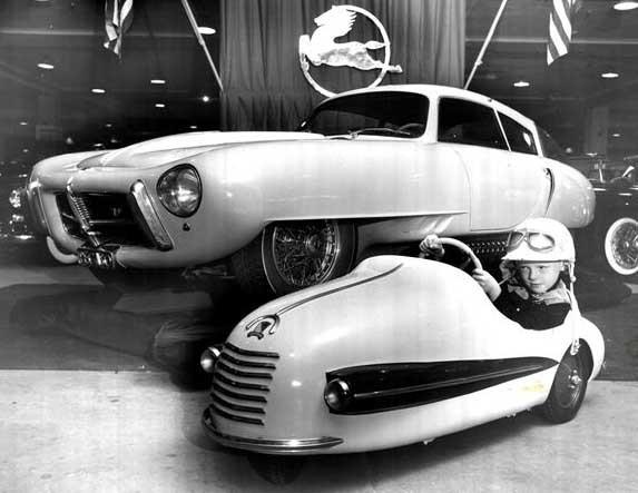 Stor och liten i New York 1953