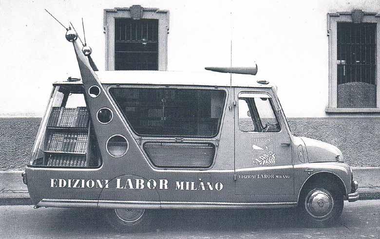 Bokbuss på italienska