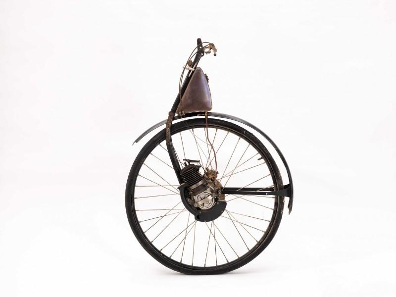 Reklamen för det direktdrivna ÖWA-hjulet från 1930 lovade mycket: »Ut till landet – ut till fåglarne!