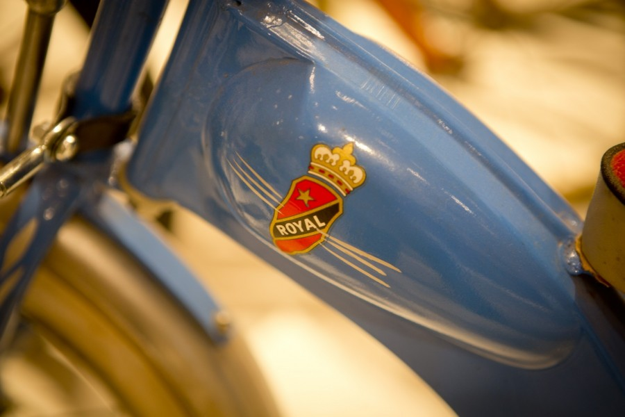 Snygg utställning om cykeln