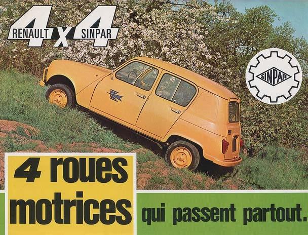 4X4 med Renaults trea