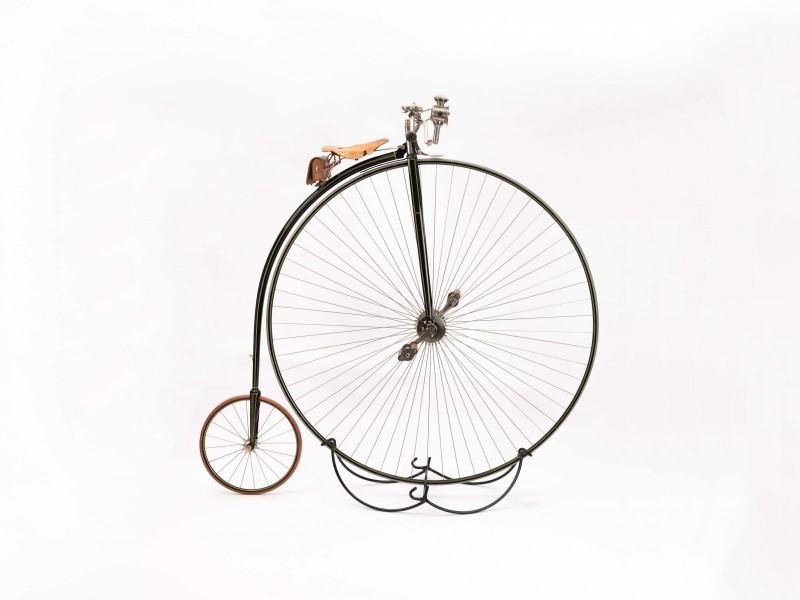 Monsterhöghjulingen från 1885, Singer Challenge. 160 cm hög!