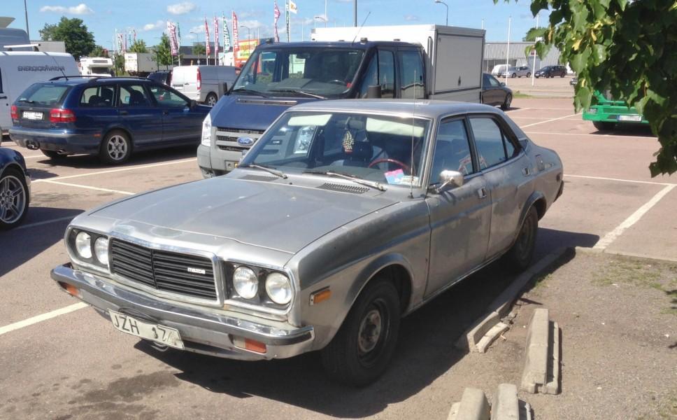 Inte Träffpunkt 70 men väl ett litet Mazdamöte