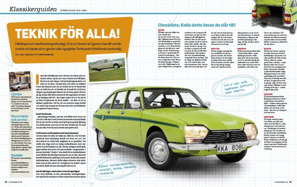 Nu är det hög tid att få upp ögonen för Citroën GS!