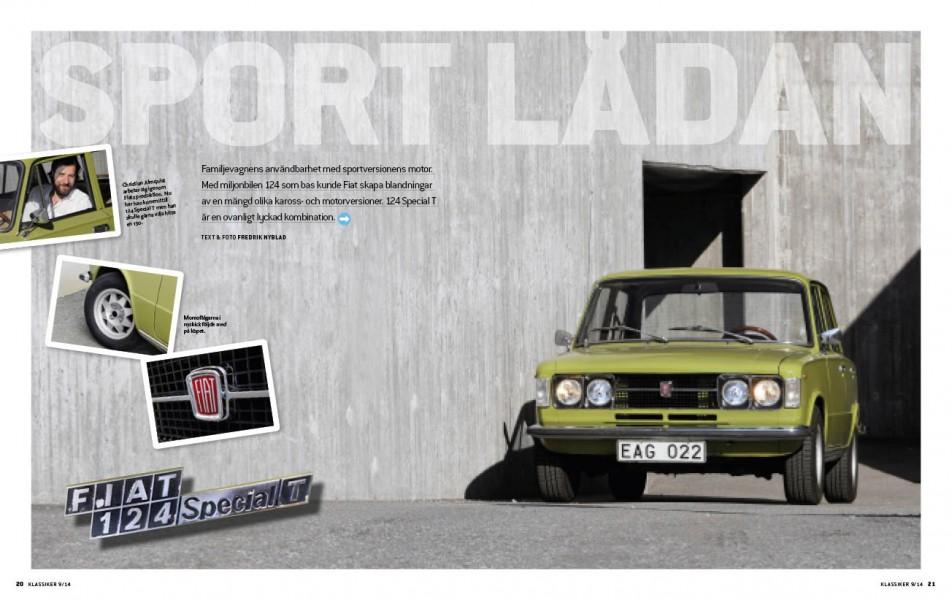 Okänd storhet – Fiats familjefräser 124 Special T!