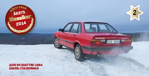 Kandidat #2: Audi 80 Quattro