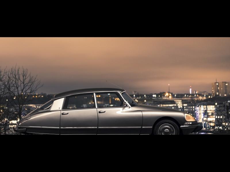 Magisk natt i Citroën DS