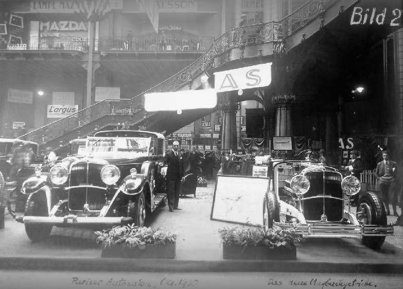 Stortyskar på parisbesök 1930