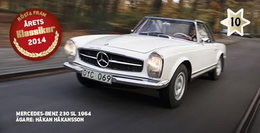 Kandidat #10: Mercedes 230 SL!