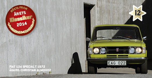 Kandidat #12: Fiat 124 Special T!