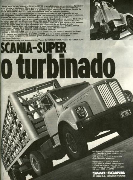 Scania 75/76 vagnar ser ungefär ut som här hemma fast med annorlunda hytt och Trilexhjul.