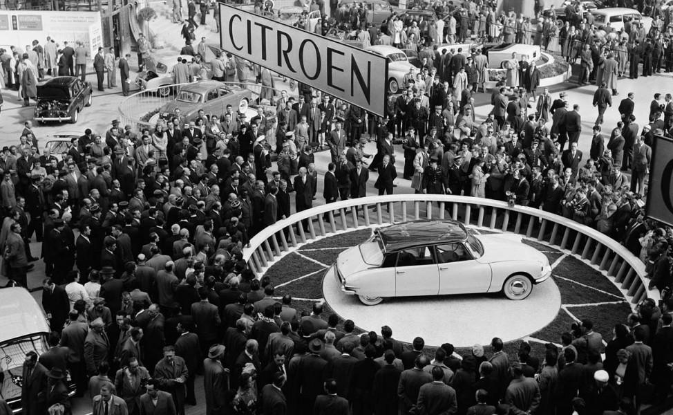 Trängsel i Paris 1955