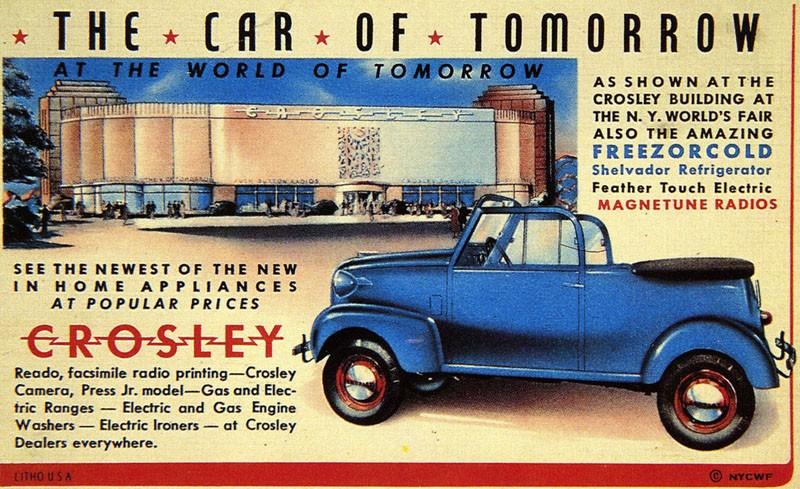 Crosley visar upp sig 1939