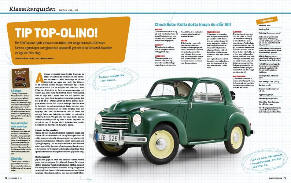 Så köper du en Fiat 500 Topolino. För det ska du.