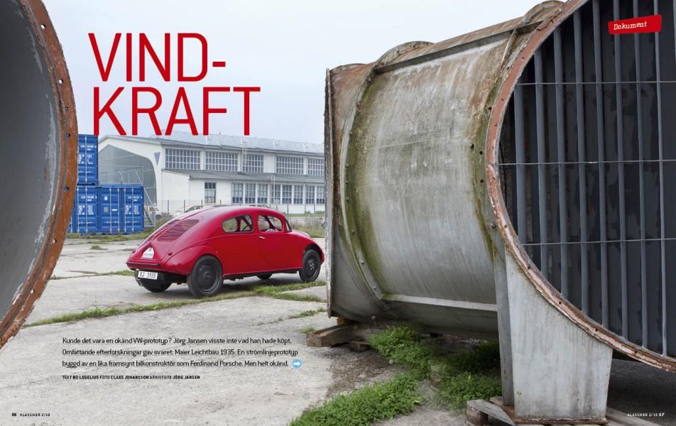 Maier Leichtbau – en förhistorisk Volkswagen?
