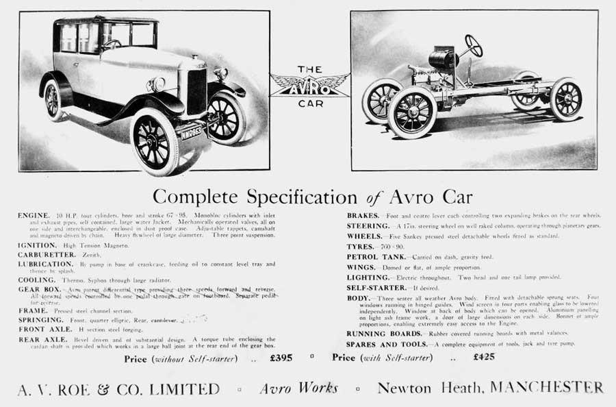 Avros automobil