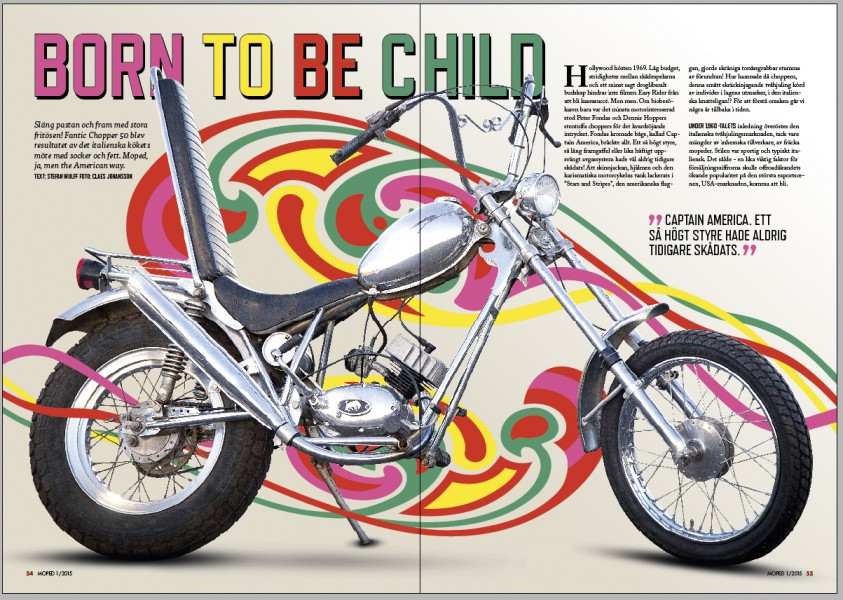 Så vilt det kan bli och ändå vara moped.