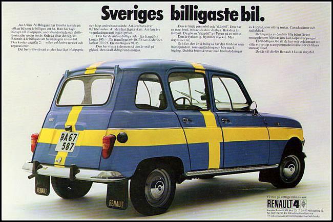 R4 – en bil för Sverige!