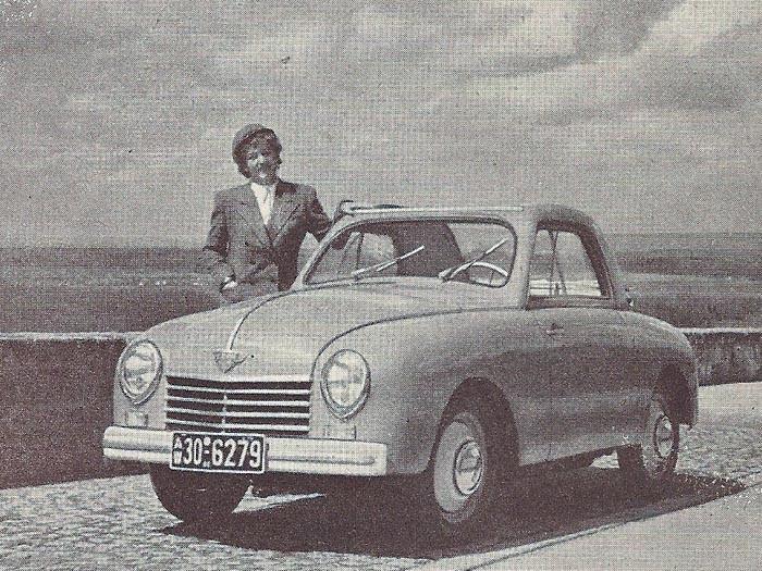 Quiz; Små tyska bilar
