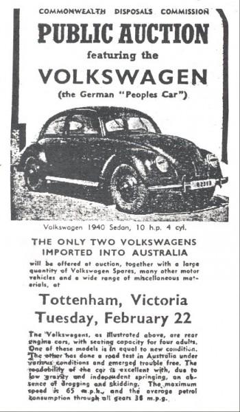 Volkswagenlotteriet 1946