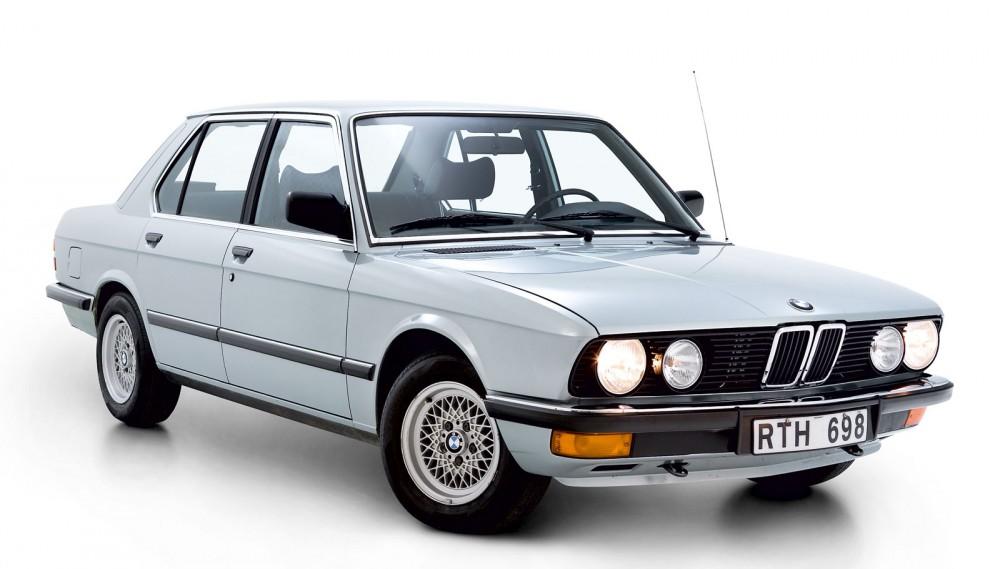 BMW 5-serie 1981–1988