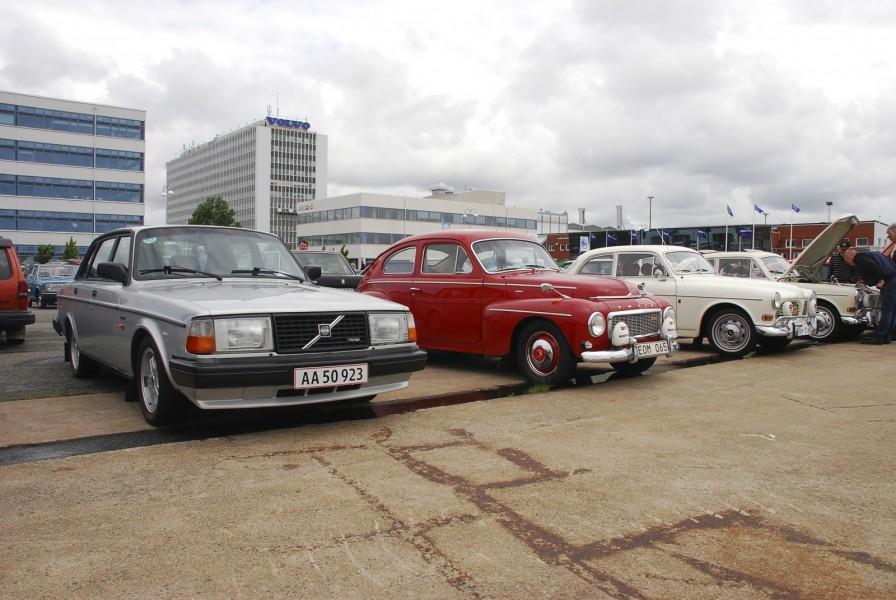 Söndagens träff hålls invid Volvo Museum i Arendal i Göteborg.