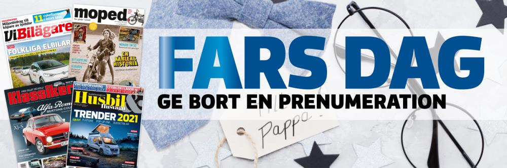 Presentkort - Ge bort Klassiker som present på Fars dag