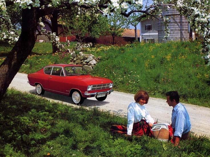 Bilar på picknick!