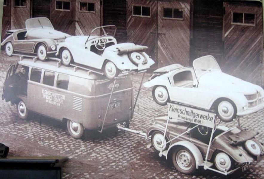 En liten biltransport