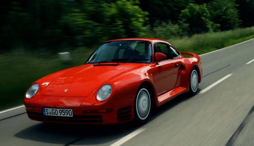 Porsches superbil provkörd