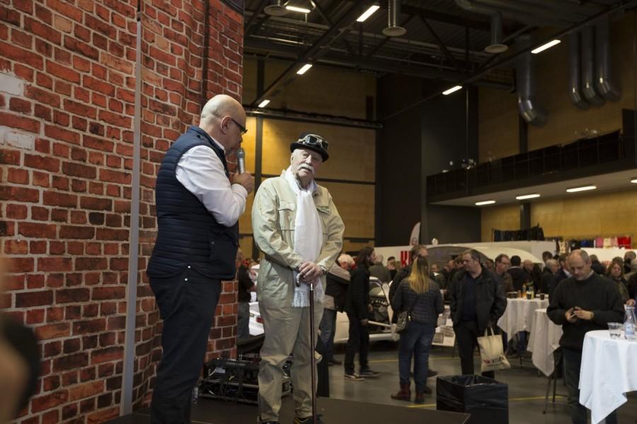 En av Picko Trobergs sista offentliga framträdanden blev vid Samlarbilsmässan i Örebro i mars då han intervjuades av Gunnar Dackevall.
