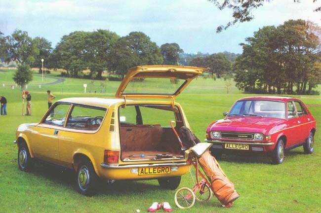 Reklamdags: bilar och golf