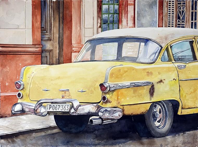 Kubanska bilar som konst
