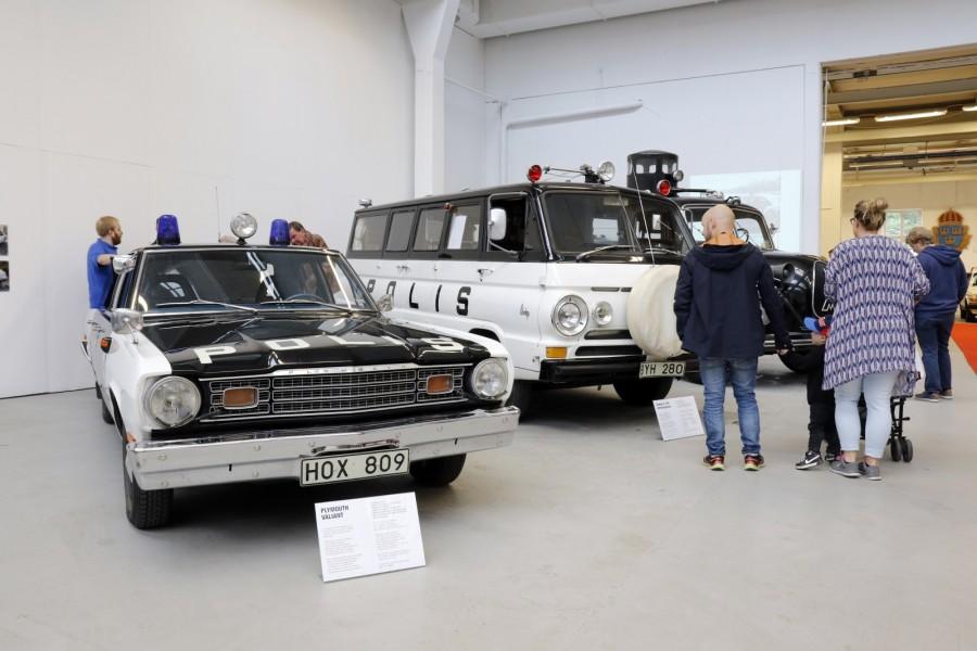 Fullt pådrag på Polismuseet