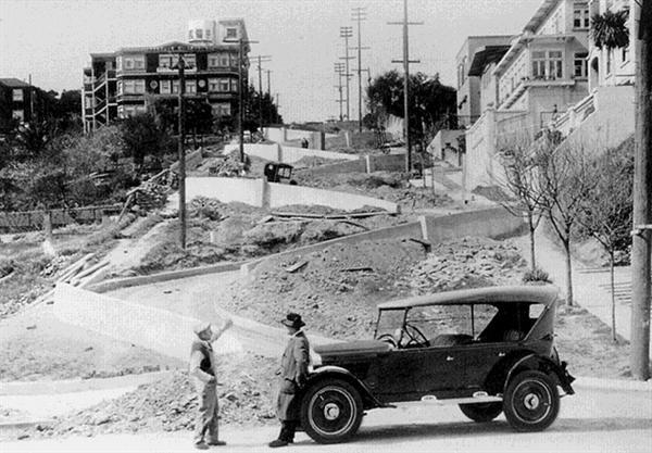 Vid Lombard street 1922