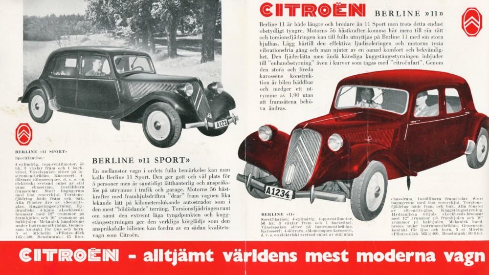 Klassiker om Citroën B11!