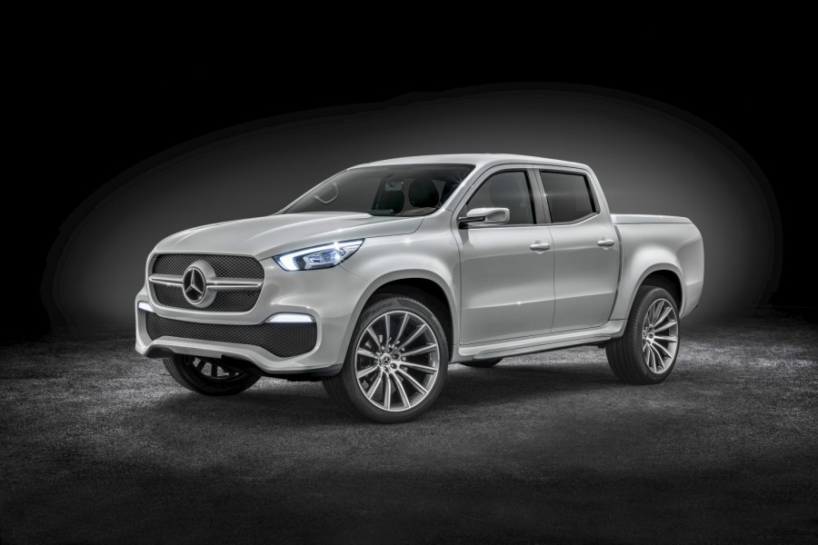 X-klass kan bli den första pickupen som Mercedes tillverkar själv.