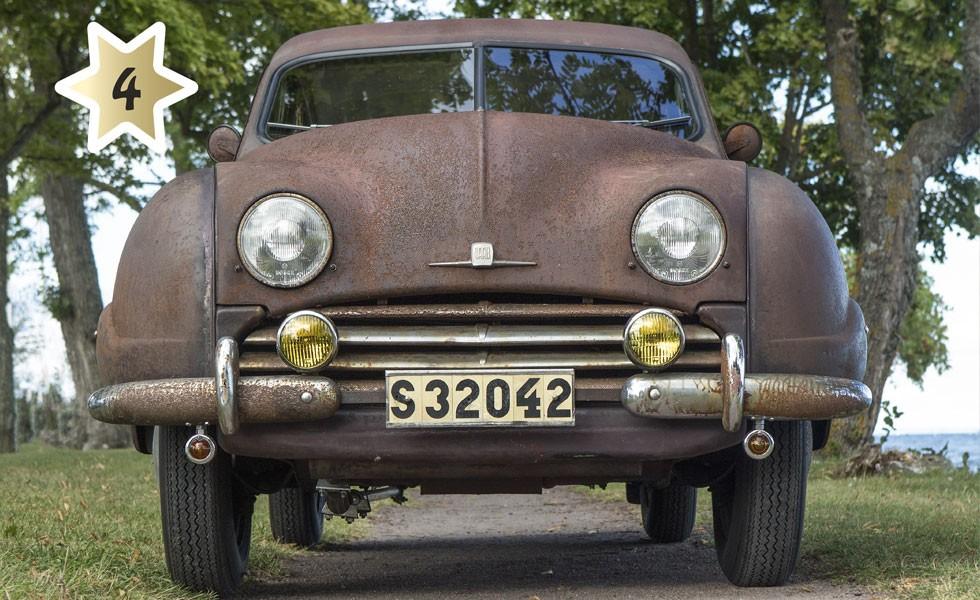 Kandidat #4 SAAB 92 1955