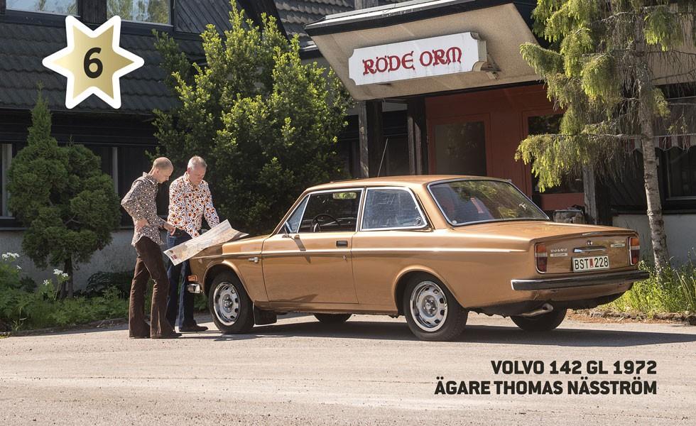Kandidat #6 Volvo 142 GL 1972