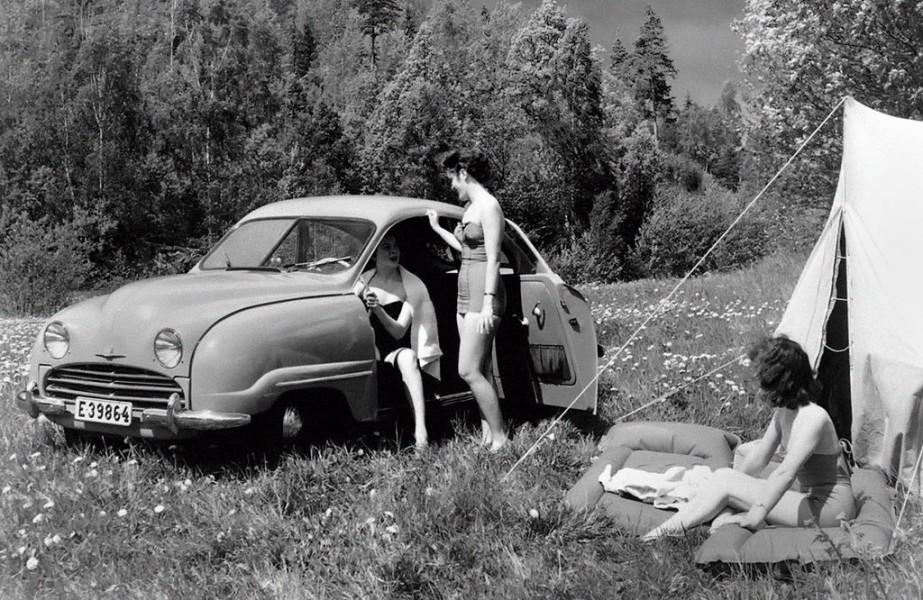 Campingliv med bilen