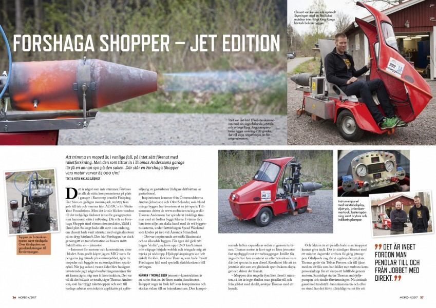 Nytt nummer av Moped