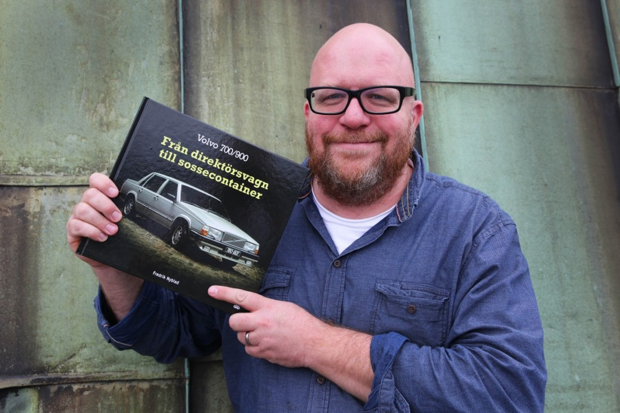 Ny bok om Volvos kantigaste!