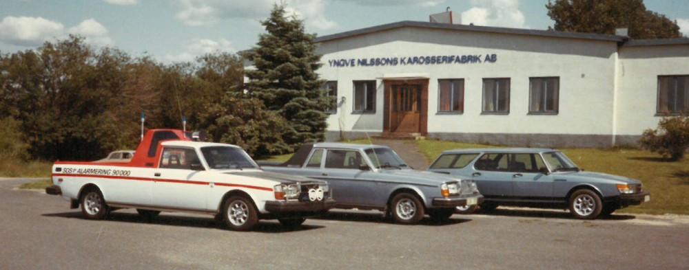 Nilsson byggde sju förlängda pickuper på Volvo 240/260 och på uppdrag av företaget Setrab tillverkades en kombiversion av Saab 900 kallad Safari.