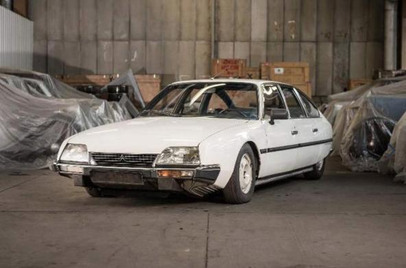 Delar av Citroëns arv under klubban!