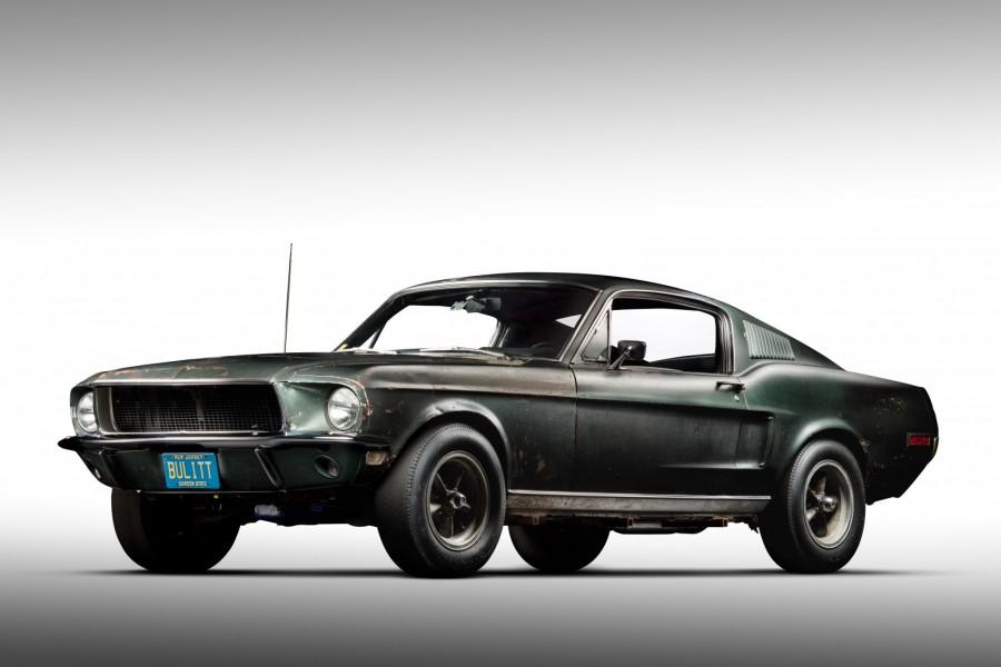 Mustangen från Bullitt återfunnen