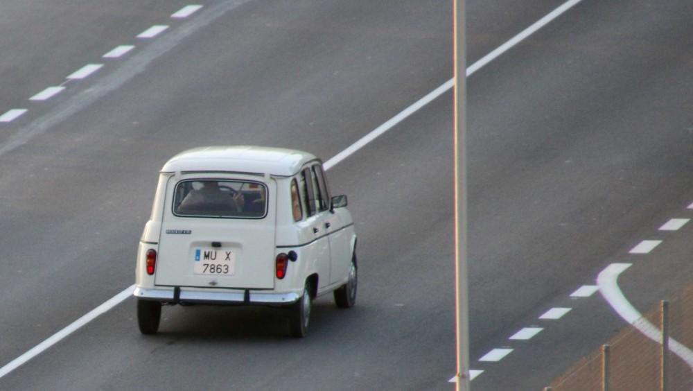 Bilar på rull i Murcia
