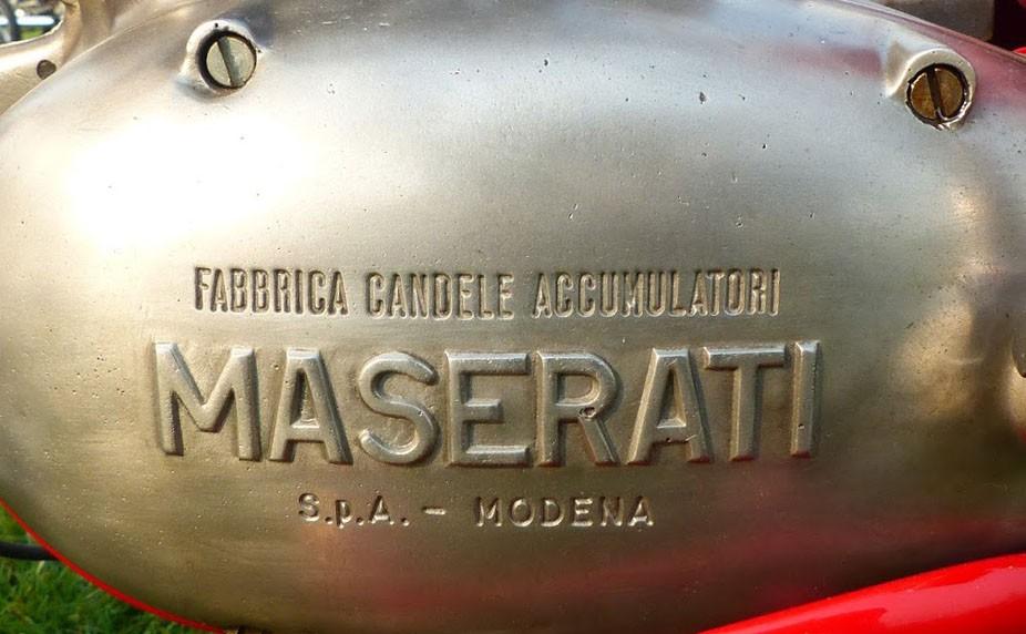 Maseratis motorcyklar